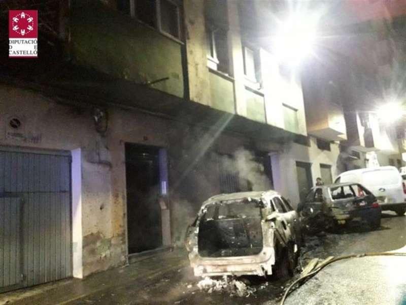 Daños causados por el incendio, en una imagen del SIAB.