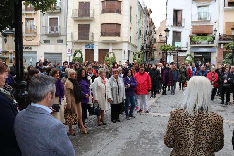 Manifestación por la igualdad de las mujeres (archivo)