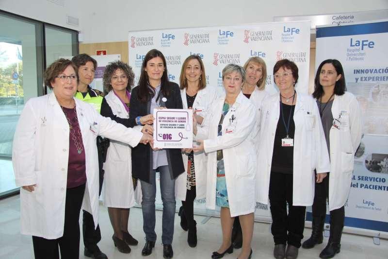 La consellera de Sanitat Universal i Salut Pública, Carmen Montón, en la I Jornada