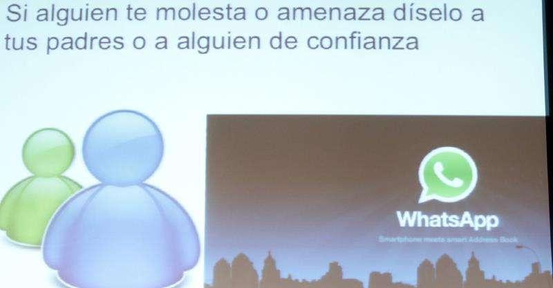 Imagen de una conferencia sobre el uso de las redes sociales. EFE/Archivo