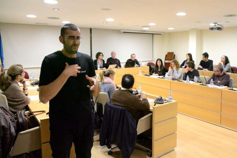 Paiporta tradueix a llenguatge de signes els seus plens. EPDA