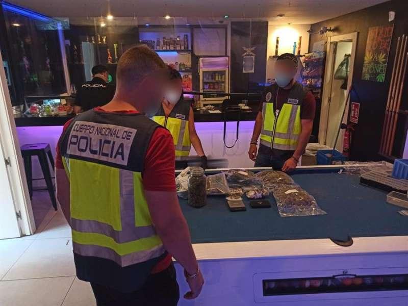 Desmantelación del club en Alicante. EPDA