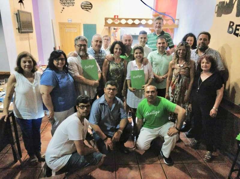 Integrantes de la nueva agrupación de Burjassot. EPDA