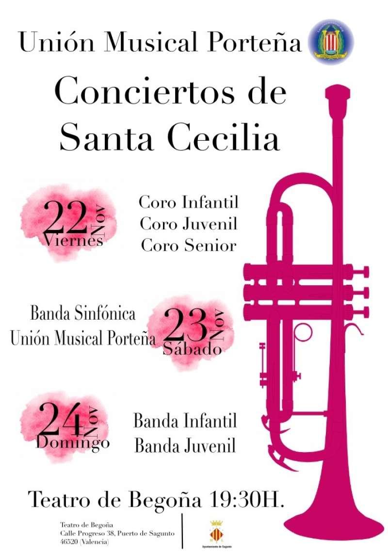Concierto Musical Porteña Santa Cecilia. EPDA