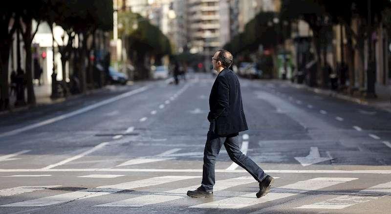 Imagen de archivo de la calle Colón de València. EFE
