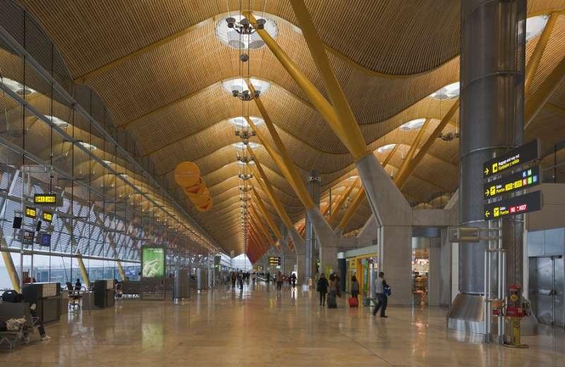 Aeropuerto de Barajas en Madrid