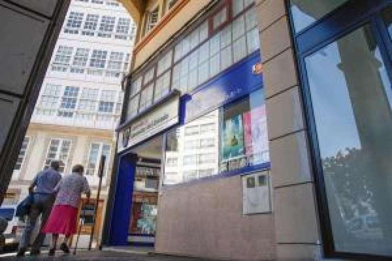 Administración de lotería. EFE