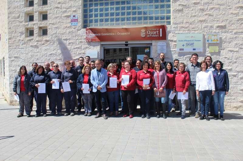 Participants del escola taller