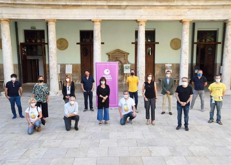 Una imagen de la presentación del festival, facilitada por los organizadores. EFE