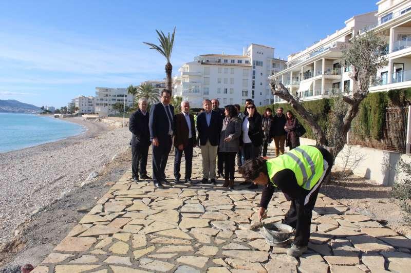 Moragues destaca el esfuerzo inversor del Gobierno en las playas de la Costa Blanca, con 5,6 millones de euros desde 2017