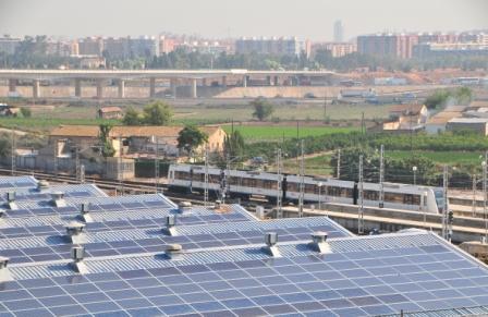 La energía solar fotovoltaica basa su funcionamiento en transformar la energía del sol en energía eléctrica. FOTO: EPDA