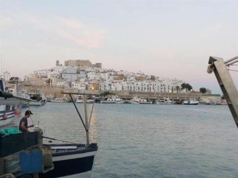 Vista del puerto de Peñíscola. EFE/Archivo