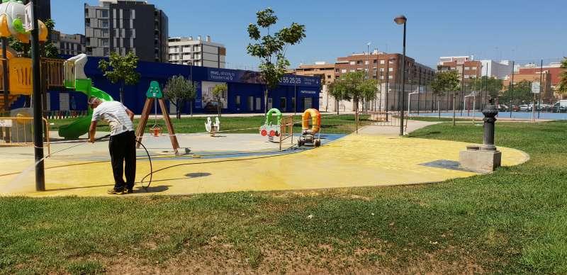 Mejora de accesibilidad en diversos parques. EPD