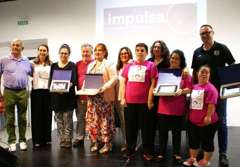 Ganadores de los Premios IMPULSA Xirivella. EPDA