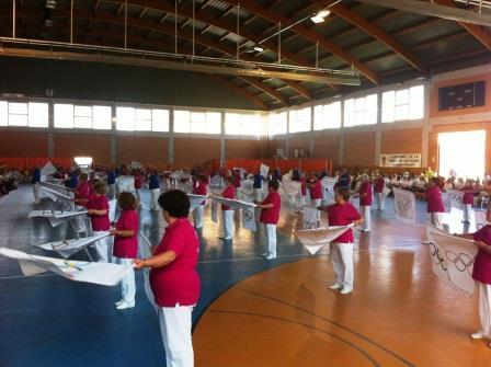 Actividades para mayores en la Pobla de Vallbona. Foto EPDA