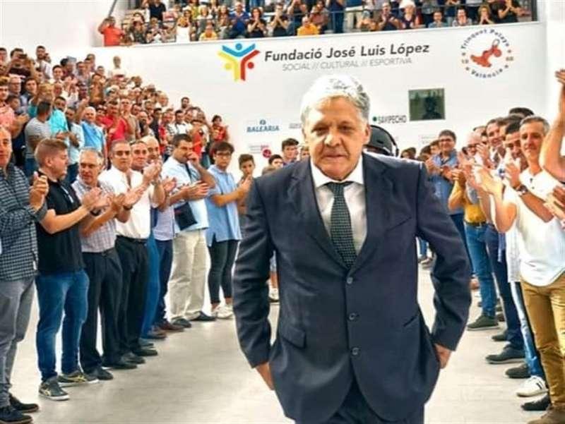 El Genovés, en una imagen compartida por la Federació de Pilota Valenciana en sus redes sociales con motivo de su fallecimiento.