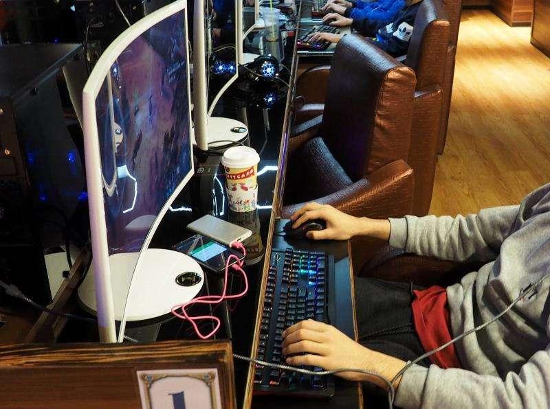 J�venes en un cybercaf�. EFE/Archivo