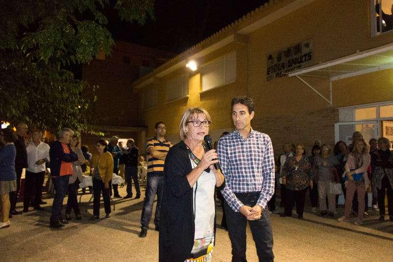 Alcaldessa de Picassent en la inauguració del curs de l