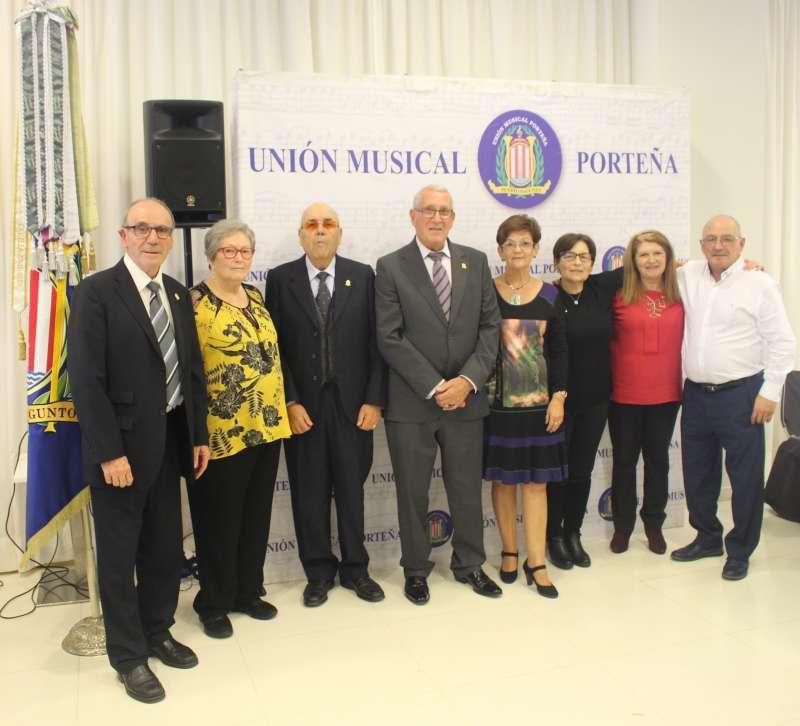 Parte de los miembros de la Junta Directiva UMP. EPDA
