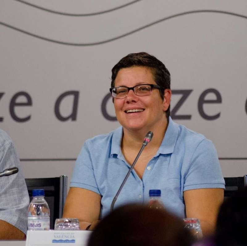 La diputada Isabel García. //EPDA