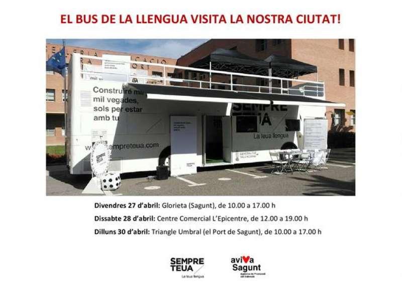 Cartell del Bus de la Llengua. EPDA