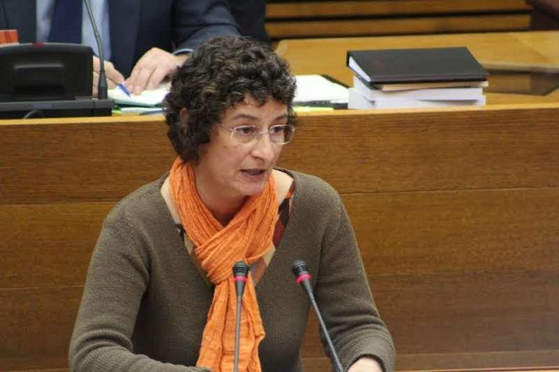 La diputada i portaveu de Compromís a la Comissió de Medi Ambient, Aigua i Ordenació del Territori, Graciela Ferrer