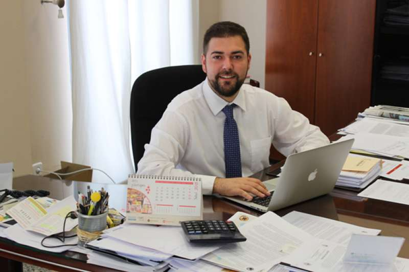 El candidato socialista Fran López. EPDA