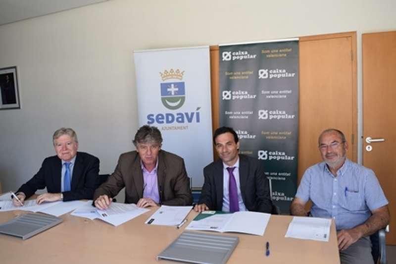 Acte de signatura del conveni. EPDA