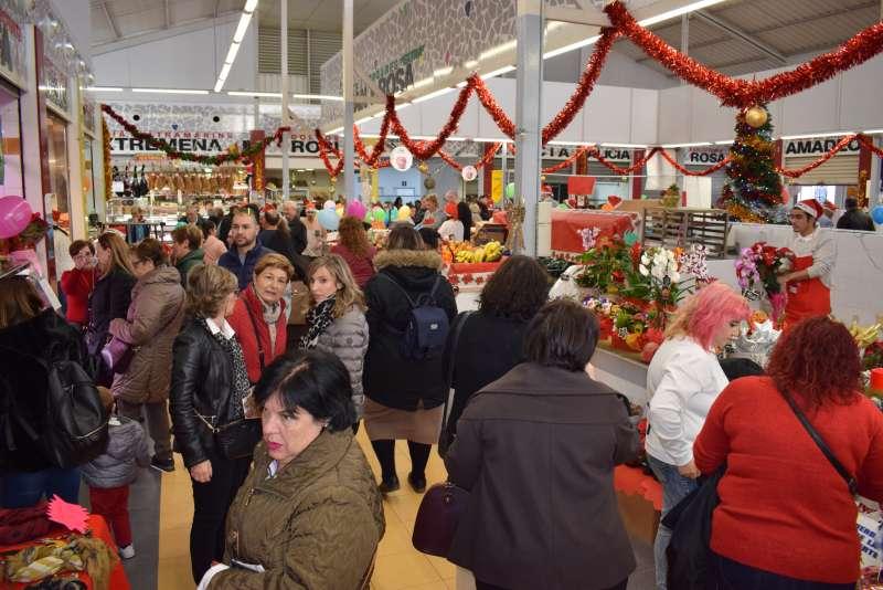 Mercado navideño en Benetússer. EPDA
