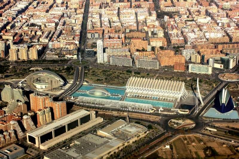 Vista aérea de València. EPDA
