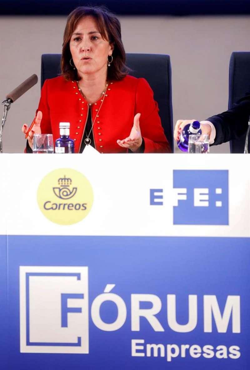 La directora general de Ivace, Julia Company, en una foto de archivo.EFE/ Kai Forsterling