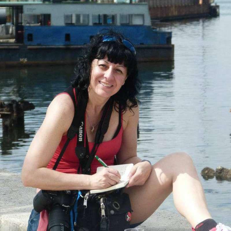 Escritora Silvia González. EPDA.