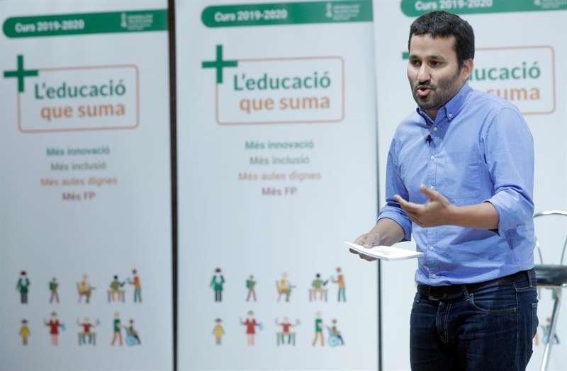 El conseller de Educación, Vicent Marzà. EFE