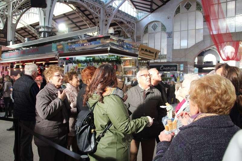 Visita por el Mercado Central de València. EPDA