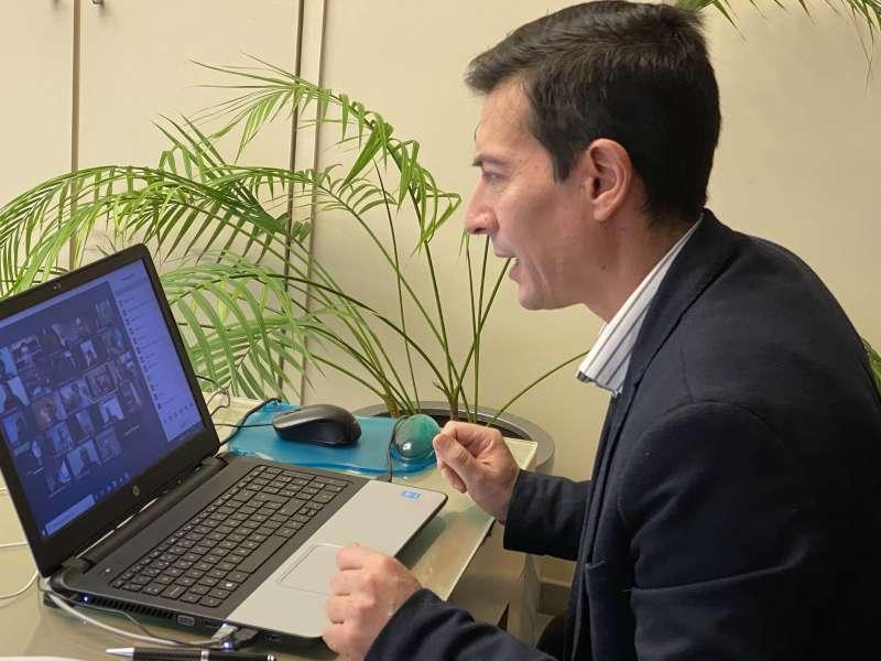 García participa en la junta de gobierno de Burjassot. EPDA