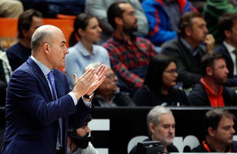 El entrenador del Valencia Basket, Jaume Ponsarnau. EFE/Archivo