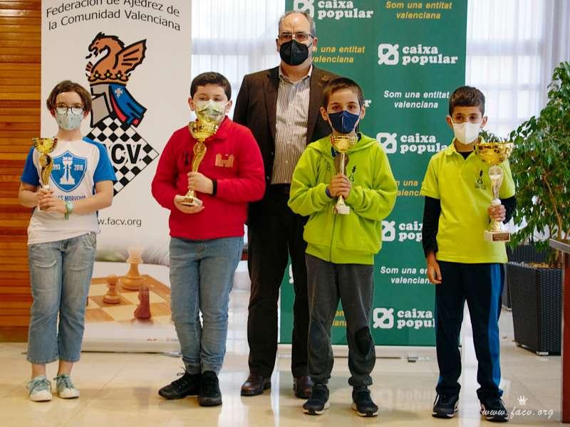 Los jugadores del Escacs Morvedre en una competición anterior. / EPDA