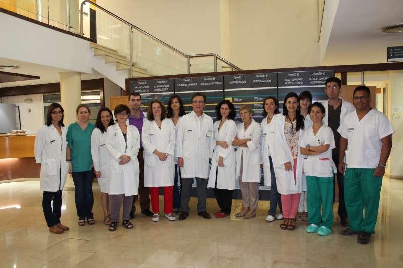 Servicio de Hematología del Clínico. EPDA