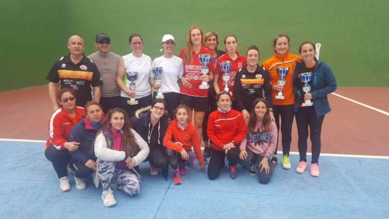 Equipos Frontenis Femenino Buñol.