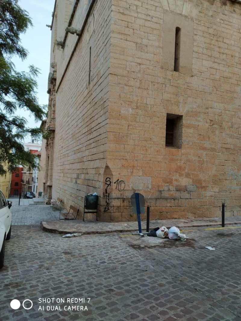 Santa María/Casa dels Berenguer de Sagunt. EPDA