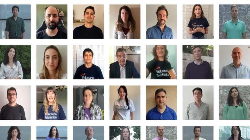 Empleados de Telefónica destinan 600.000 euros de sus cheques comida a los bancos de alimentos