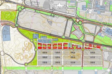 Plano del Proyecto Zona Franca de Paterna.