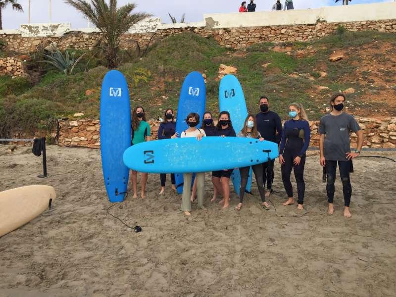 Surf en Cala Cerrada/EPDA