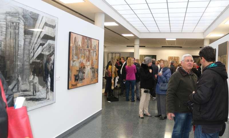 La muestra se ha instalado en el Centro Cultural