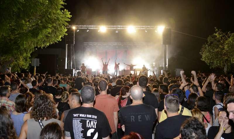 Concerts durant les festes de Paiporta. / EPDA