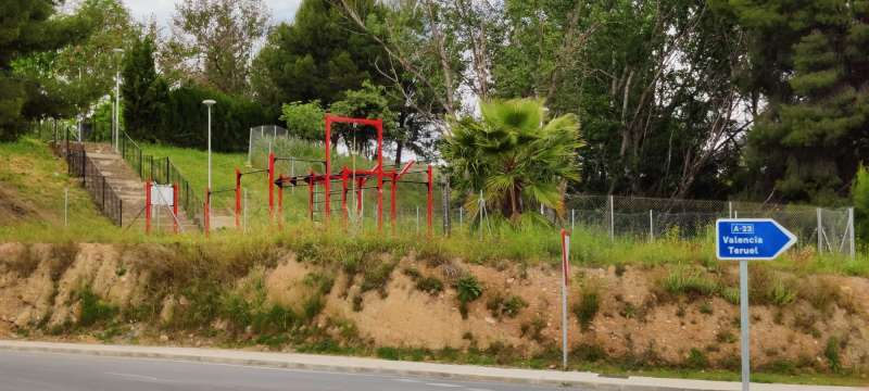 El parque está en el camino de las Fontanicas