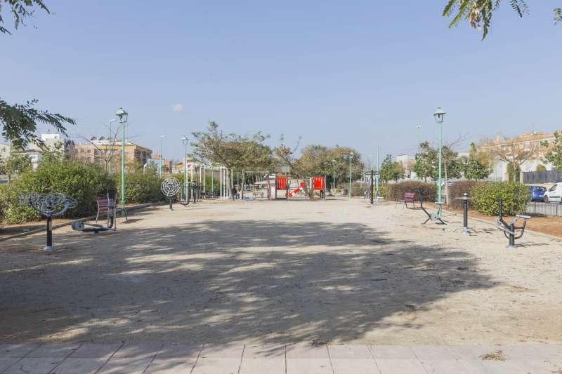 Picassent Màquines Biosaludables al parc Auma Godella.