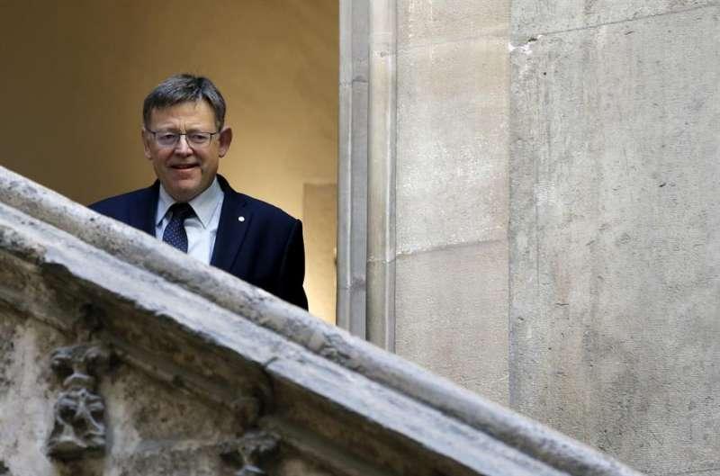 El president, Ximo Puig, en una imagen de archivo. EFE