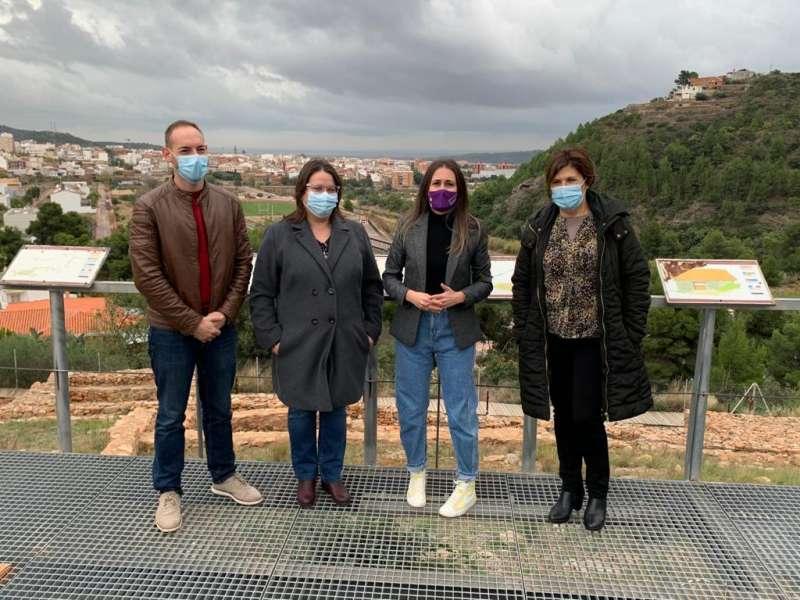 Diputada y alcaldesa en el poblado íbero