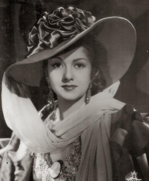 Imagen de la fallecida actriz valenciana, AMparo Rivelles.